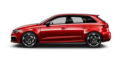 z.B. Audi RS3